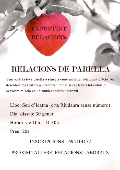 taller relacions de parella